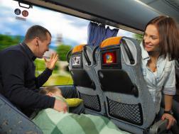 Мультимедийные устройства в автобусах Автолюкс